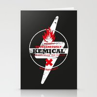 Spontaneously Kemical Stationery Cards