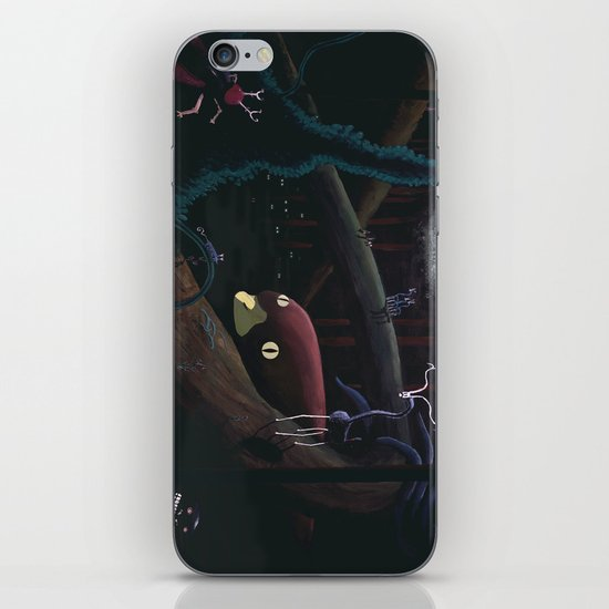 Monsters lurking in the forest iPhone & iPod Skin