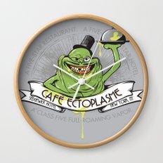Café Ectoplasme Wall Clock