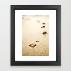 Leads to nowhere  Framed Art Print