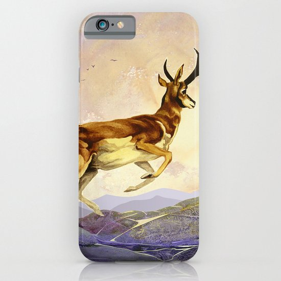 Pronghorn in the Morning iPhone & iPod Case