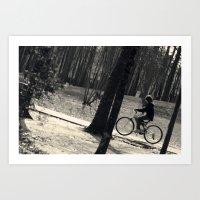 Ride Along Art Print