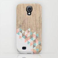 Galaxy S4 Cases featuring Archiwoo by Marta Li