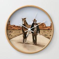 Death Americana Wall Clock