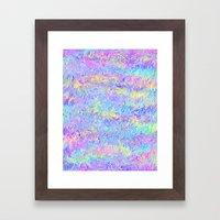 Four Colors Framed Art Print
