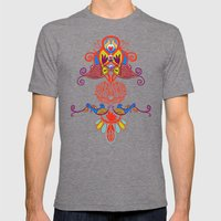 Sealife Harmony Mens Fitted Tee Tri-Grey SMALL