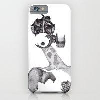 Anabelle (B&W) iPhone 6 Slim Case