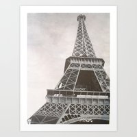 Untitled (Eiffel Tower) Art Print