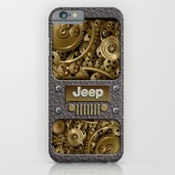 Steampunk Jeep With Gear… iPhone 6 Slim Case