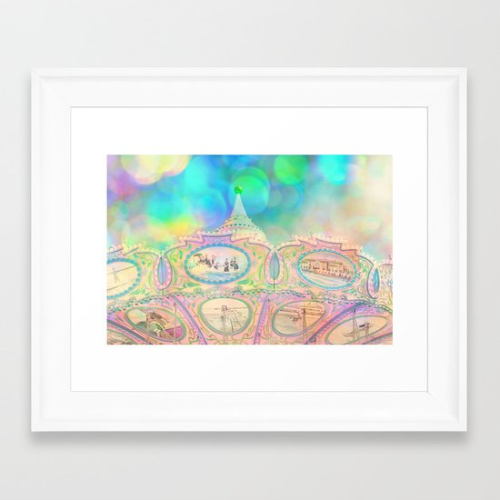 Cotton Candy Dreams Framed Art Print