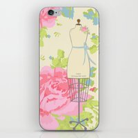 Sewing Room Dress Forms iPhone & iPod Skin