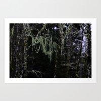 Nature's Chandelier Art Print