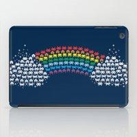 Rainbow Invaders iPad Case