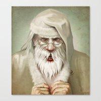 Santa's Secret Canvas Print