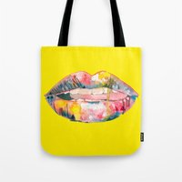 Let's Pig Out Tote Bag