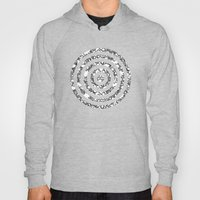 Lila's Flowers Repeat Bl… Hoody