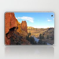 Chain Reaction Smith Rock, OR Laptop & iPad Skin