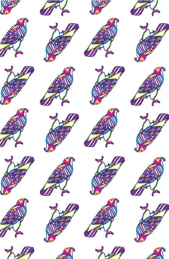 Love Hawk Art Print