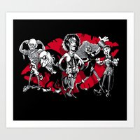 RHPS gang of five Art Print