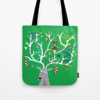 The Reindeer And The Rob… Tote Bag