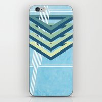 Four Triangles  iPhone & iPod Skin