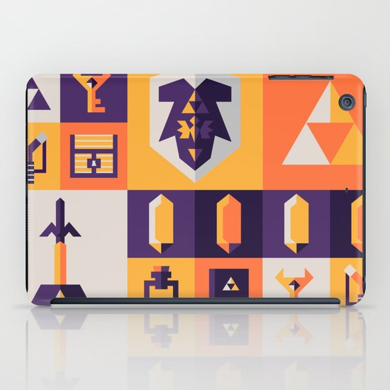 Legend of Zelda Items iPad Case