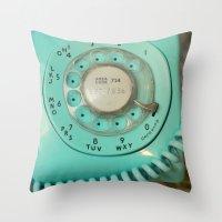 My New  Phone Throw Pillow