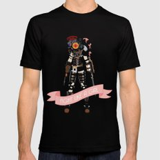 Fight Like a Girl: Big Sister Mens Fitted Tee Black SMALL