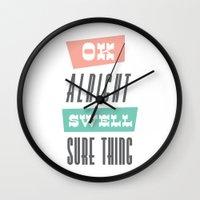 Swell Wall Clock