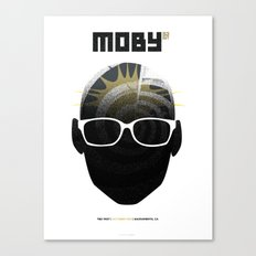 Moby DJ set  Exclusive TBD Fest Poster Canvas Print