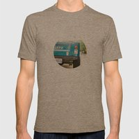 Jeep Scrambler Summer Mens Fitted Tee Tri-Coffee SMALL