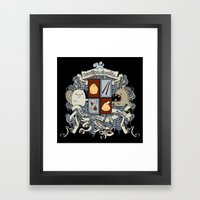 All Doodles Great & Smal… Framed Art Print
