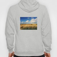 Clouds Over Windy Field … Hoody