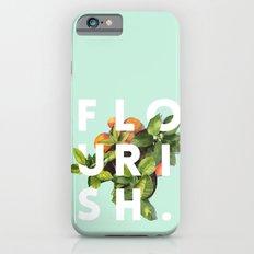 Flourish #society6 #buyart #typography #artprint iPhone 6 Slim Case
