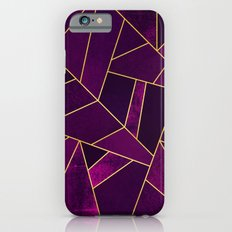 Purple Stone iPhone 6 Slim Case