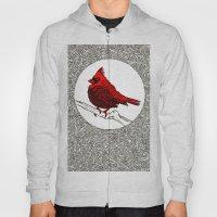 A Red Cardinal Hoody