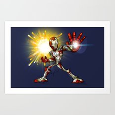 IRON MAN mark 42 Art Print