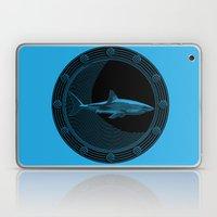 Engraved Shark Laptop & iPad Skin