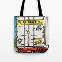 J.B. Hunt Tote Bag