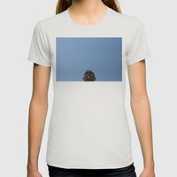 head Womens Fitted Tee Silver SMALL