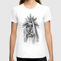 SORCERESS Womens Fitted Tee White SMALL