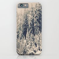 iPhone & iPod Case featuring When it is winter, it snows.  by mymarianess