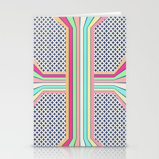 pop cross Stationery Card