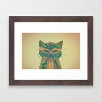 Felis Silvestris Framed Art Print