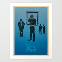 Steven Spielberg's CATCH ME Art Print