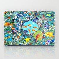 Fish Party iPad Case