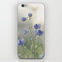 Blue Belle. iPhone & iPod Skin
