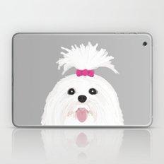 Pima - Shih Tzu Cute Whi… Laptop & iPad Skin