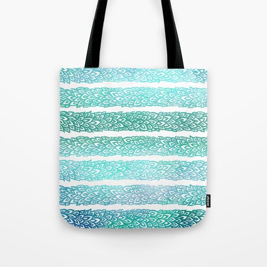 Leaves From Paradise II Tote Bag