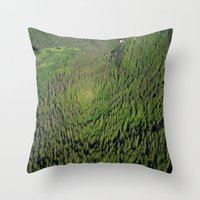 Another Kind of Rainforest Throw Pillow